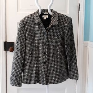 Talbots Italian fabric dress coat